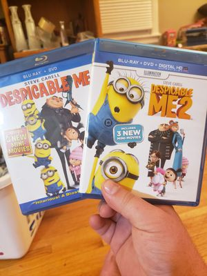 Despicable Me/Despicable Me 2 Bluray for Sale in Minneapolis, MN