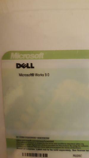 Microsoft Works 9.0/Office XP SBE for Sale in Scottsdale, AZ