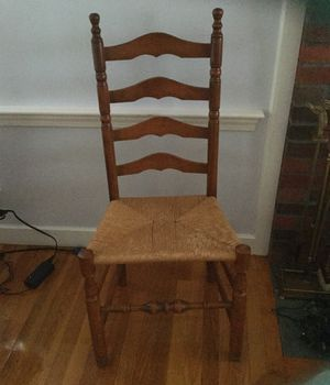 Ladder back chair for Sale in Sudbury, MA
