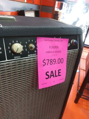 Fender amplifier for Sale in New York, NY