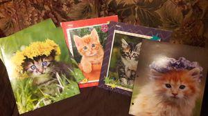 NEW Kitten Pocket folders. $1 each. for Sale in Laredo, TX