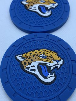 Jacksonville Jaguars Car Cup Coasters (2pcs) for Sale in Ontario,  CA