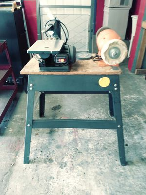 Scroll Saw & Buffer with table for Sale in Inverness, FL