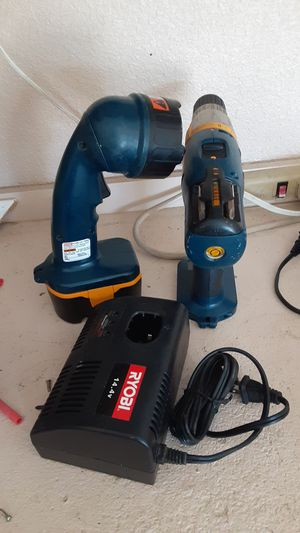 Ryobi drill , charger and flashlight for Sale in Cedar Park, TX