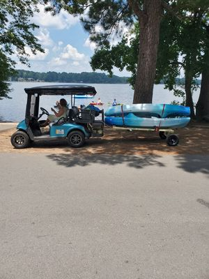 Trailer for golf cart. for Sale in Peachtree City, GA