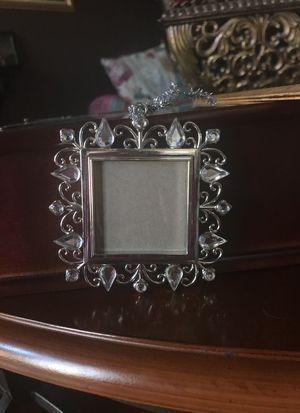 Silver/crystal frames - 24 assorted for Sale in Rockville, MD