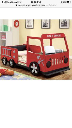 Fire truck bed twin size for Sale in Auburn, WA
