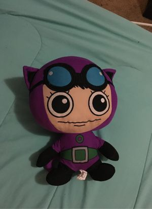 Plushie cat woman for Sale in Mansfield, TX