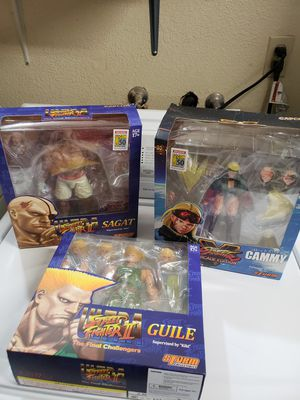 Street fighter CC comic con collectibles action figures toys for Sale in Apple Valley, CA