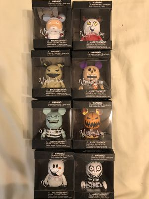 Nightmare before Christmas vinylmation origami never opened for Sale in Brooklyn, NY