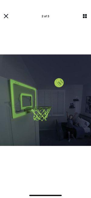 Mini pro hoop glow in the dark (indoor mini hoop) for Sale in Seattle, WA
