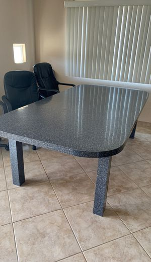 Large Gray Formica Table for Sale in El Cajon, CA