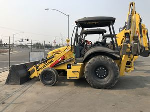 2018 Used B95 New Holland 2wd Backhoe for Sale in Turlock, CA
