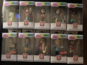 Funko Ralph Breaks The Internet Disney princess rock candy collection for Sale in Covington, KY
