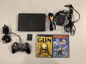 PlayStation 2 slim bundle for Sale in Bakersfield, CA