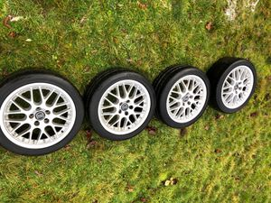 "Volvo V70 17"" OEM Wheels good tires will fit other Volvo's for Sale in Vancouver, WA"