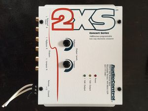 AudioControl 2xs active crossover 2-way for Sale in Tacoma, WA