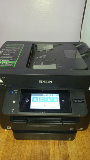 Epson WorkForce Pro 4740 for Sale in Cypress, CA