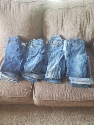 Girls name brand pants size 10to 12 for Sale in Pigeon, WV
