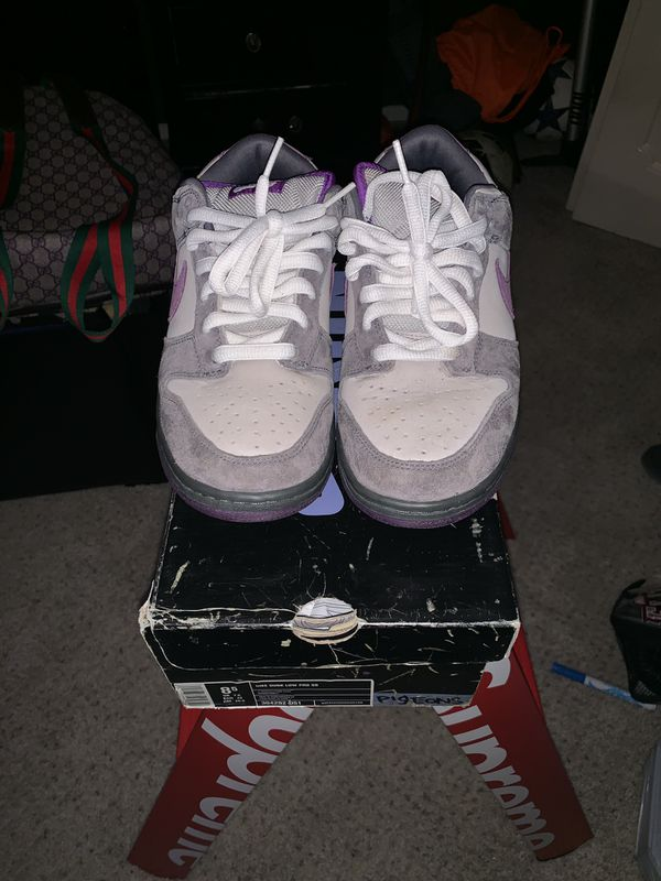 2006 purple pigeons SB dunks