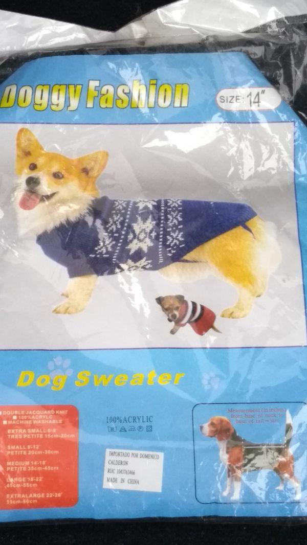 Doggy fashion- dog sweater