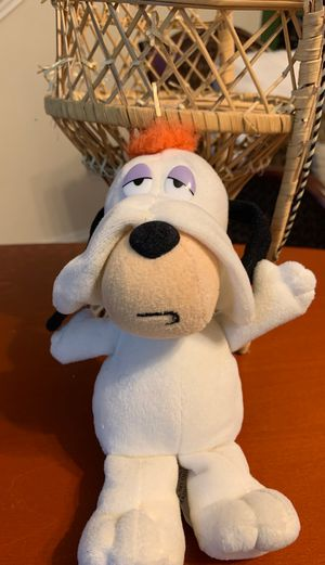 Vintage 1996 Cartoon Network droopy dog stuffed animal 8 inches for Sale in Killeen, TX
