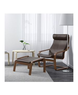 Poäng arm chair with ottoman for Sale in Oakland Park, FL