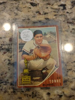 1962 Topps Joe Torre Rookie Baseball Card for Sale in Land O' Lakes, FL