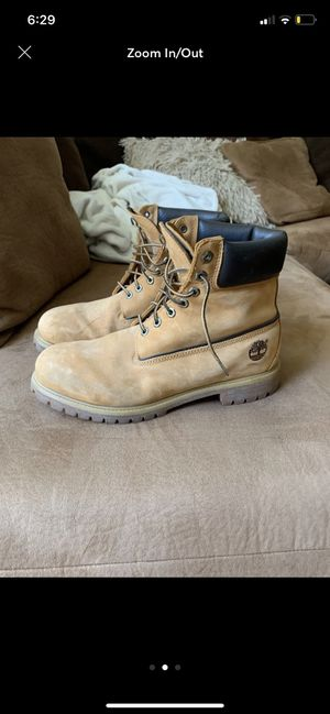 Timberlands men's work boots for Sale in Seattle, WA