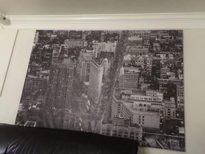 New York City Manhattan night view. Removable. Easy to assemble. for Sale in Silver Spring, MD