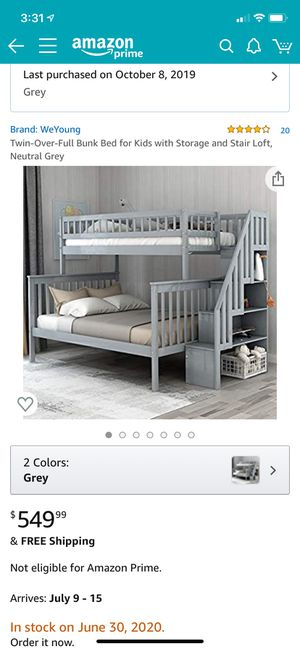 Bunk bed for Sale in Covington, WA