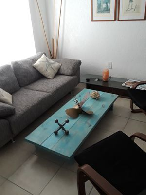 Rustic Blue coffee table for Sale in Miami, FL