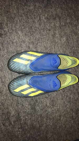 Adidas laceless X's mens FG for Sale in Millersport, OH