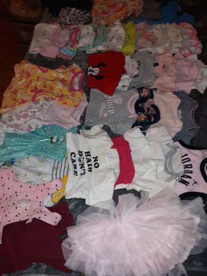 0 to 6 Baby Girl clothes for Sale in San Bernardino, CA