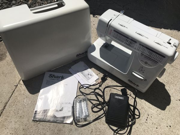 Shark Euro Pro X Sewing Machine With Hard Cover