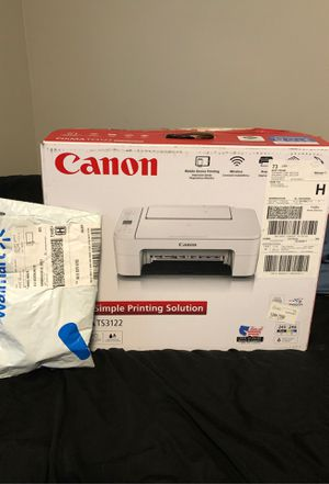 Canon printer with black and color ink for Sale in Waldo, AL