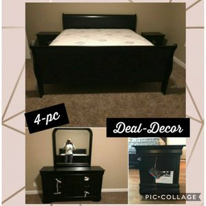 Sleigh bedroom set for Sale in Kennesaw, GA