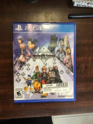 PlayStation 4 - Kingdom hearts HD 11.8 Financial Chapter Prologue for Sale in Bakersfield, CA