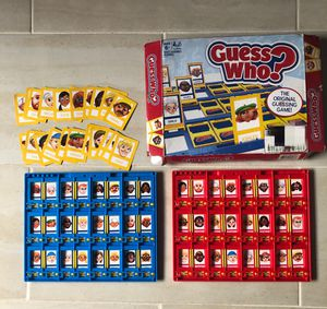 Hasbro Gaming Guess Who? Classic Game for kids and adults for Sale in Los Angeles, CA