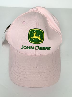 John Deere Pink Plain Logo Strapback Hat Cap New with Tags for Sale in Renton, WA