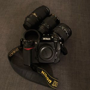 Nikon D300s, 3 Lenses, and Accessories (Ready-to-Shoot!) for Sale in Tampa, FL