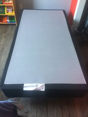 Twin box spring base with frame for Sale in Fort Worth, TX