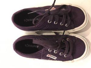 NEW Superga Classic Kids Sneakers - Purple for Sale in Seattle, WA