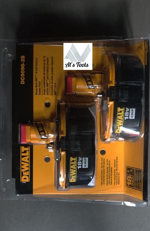 DeWalt 18 volt double pack battery pack for Sale in Paramount, CA