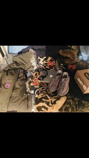 Cash only Mac Pro 680 flawsless Mcm wireless beats 180 Yeezy v2 2.0 Size 11-450 Goose size xl 450 Mackage size L 550-retail was 1,200 so issa stea for Sale in New York, NY