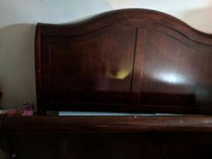 Queen sleigh bed for Sale in Crawfordsville, IN
