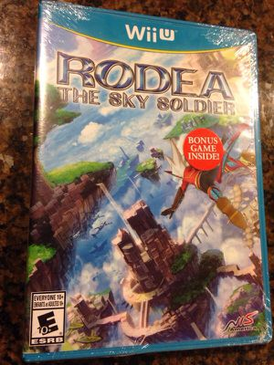 Brand New Rodea The Sky Soldier Nintendo Wii U (Launch Version) for Sale in Seattle, WA