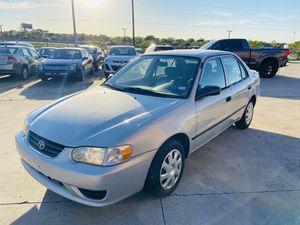 2002 Toyota Corolla 5 speed for Sale in Dallas, TX