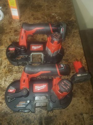 Band saws Milwaukee m12 for Sale in Springfield, VA