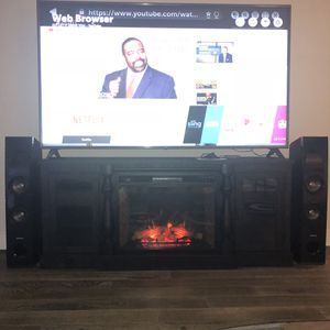 """""FIREPLACE TV STAND"""" $1700 for Sale in Tampa, FL"